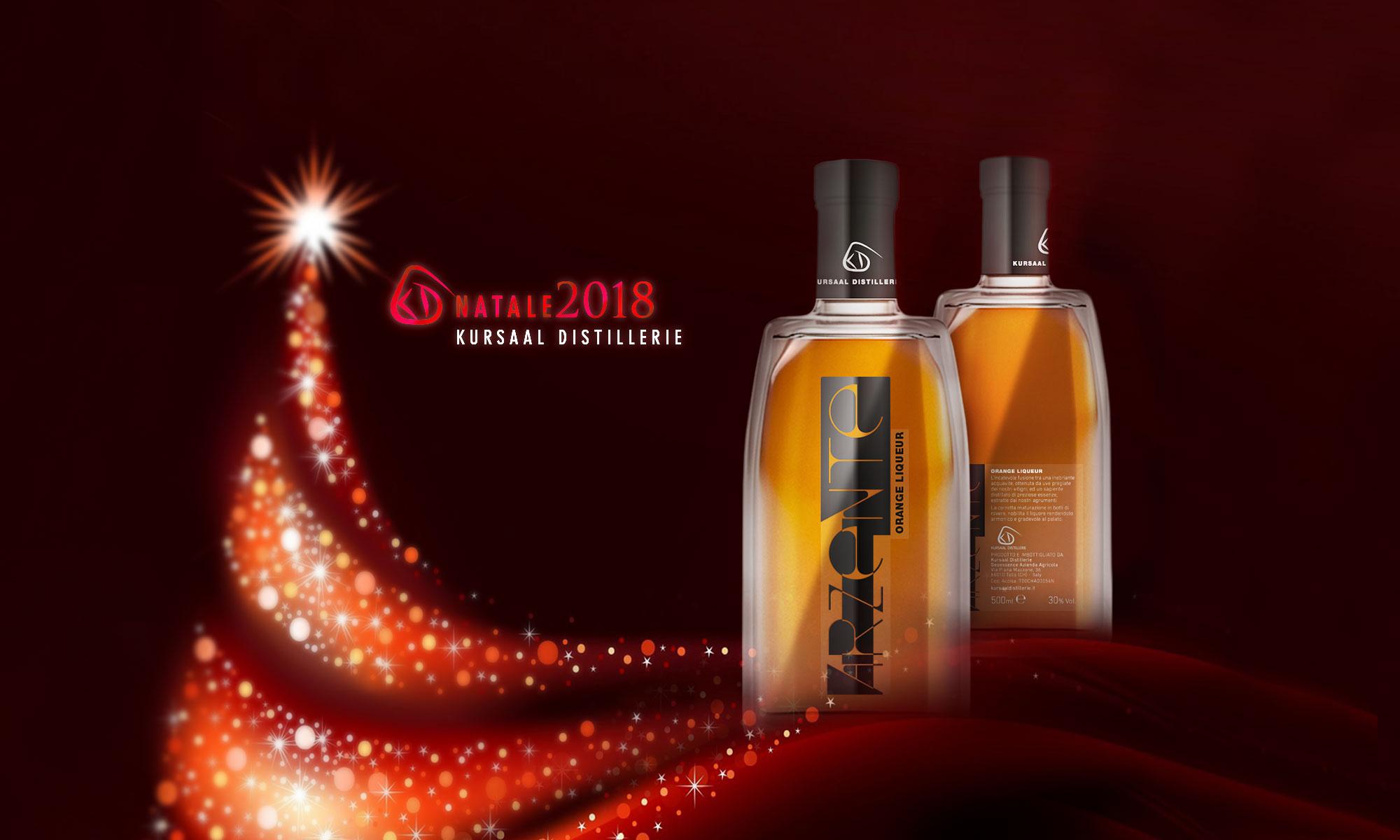 Kursaal Distillerie augura a tutti un buon inizio di festività natalizie!